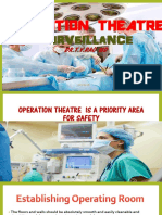 Operation theatre surveillance by Dr.T.V.Rao MD