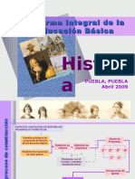 1.- HISTORIA PRIMARIA PUEBLA