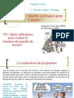 TD - Les indicateurs de la situation du marché du travail  .ppt