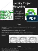 2b recycle presentation