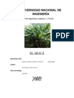 monografia de fibra de abaca