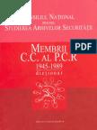 Dictionar Membrii CC Ai PCR (1945 - 1989)