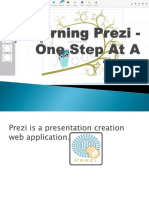 Learning Prezi One Step at a Time