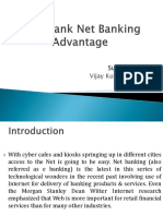 ICICI Bank Net Banking Advantage