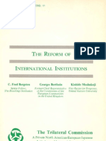 11 - The Reform of International Institutions (1976)
