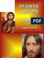Preasfanta Treime - textul evanghelic (A)