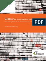 Glossar der Neuen deutschen Medienmacher