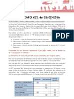 Flash CCE. Chômage/activité Partiel