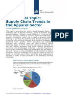 Trends Supply Chains Europe Apparel 2014