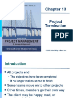 Project Management Chapter-13