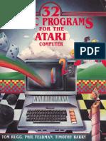 32 Basic Programs for the Atari Computer