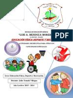 Educación Física p/ Ninos c/Capacida