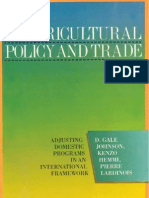 29 - Agricultural Policy and Trade - Adjusting Domestic Programs in an International Framework (1985)