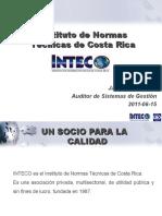 6ta.conferencia ImplicacionesysignificadodeunacertificacionbajoNormasINTECO Ing.jaimeRestrepo