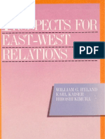 31 - Prospects for East-West Relations (1986)