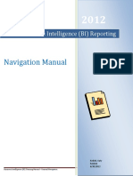 Business Intelligence Basic Navigation