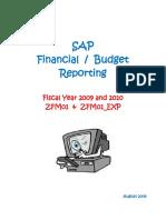 SAP Budget Report ZFM01