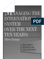 50 - Managing the International System Over the Next Ten Years - Three Essays (1997)
