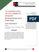 Icono14. Nº15. La comunicación de los lobbies en Internet