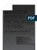 53 - 21st Century Strategies of Trilateral Countries - In Concert or Conflict (1999)
