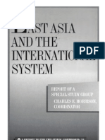 55 - East Asia and the International System (2001)