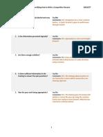 feedback - usability questions- baggett
