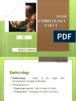 Basic Embryology PART I