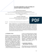 KPI in Logistics