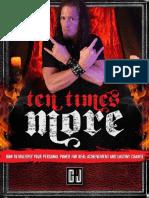 Ten Times More eBook - C.J. Ortiz