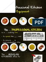 test orale - the professional kitchen