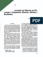 Artigo Sobre Associação de Paalavras