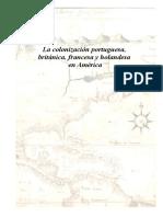 Colonizaciones Portuguesas, Francesas, Holandesas e Inglesas