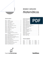 Refuerzo y Ampliacion. 2º. Matemáticas. La Casa del Saber.Santillana..pdf