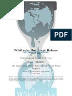 CRS - RL34582 - The Depreciating Dollar