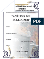 Analisis Del Bulldozer