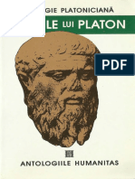 Cristian Badilita - Miturile Lui Platon