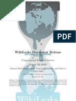 CRS - RL34682 - Federal Debt Management
