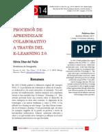 Icono14. Nº15. Procesos de aprendizaje colaborativo  a través del e-learning 2.0