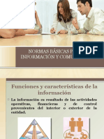 Normas Básicas Para La Información y Comunicación