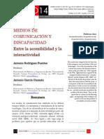 Icono14. Nº15. Medios de comunicación y discapacidad. Entre la accesibilidad y la interactividad