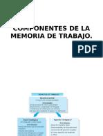 Componentes de La Memoria de Trabajo