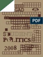 National Survey on Student Politics, 2008