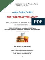 Salem Police Facility the Salem Alternative