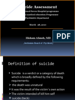 Suicide by Dr. Hisham Afaneh