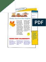 newsletter- standard 8