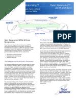 Adaptive Private Networking - Talari Networks T700
