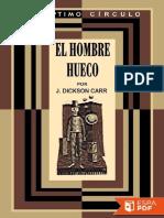 El Hombre Hueco - John Dickson Carr