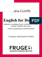 English for Doctors customer booklet