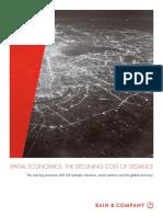 BAIN REPORT Spatial Economics