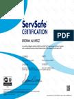 serv safe manager certificate